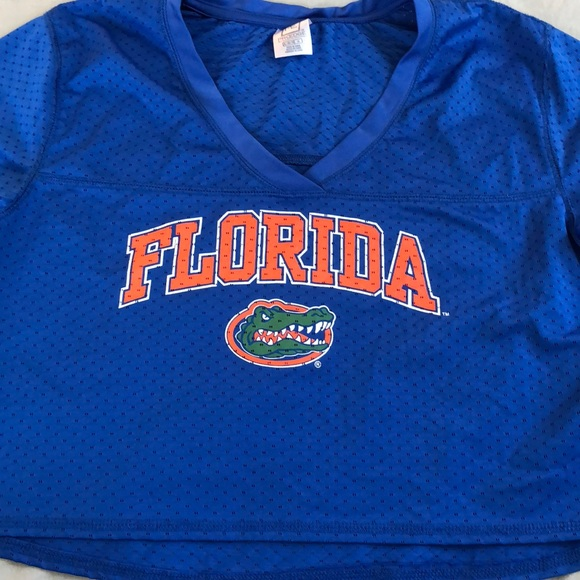 bd4f1997e6cca0 Florida Gators UF Football Crop Top. Girls XL. M 5ad8e4595521beaa9523db31.  Other Shirts   Tops ...